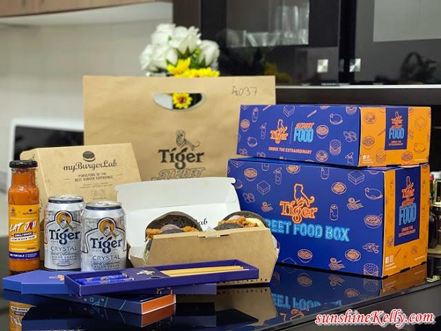 Tiger Street Food, Tiger Beer, myBurgerLab, Mama Manta, Hot Sambal Burger, Devi's Corner, Yut Kee, Ticklish Ribs & 'Wiches, Megah Taiwan Sausage, Food