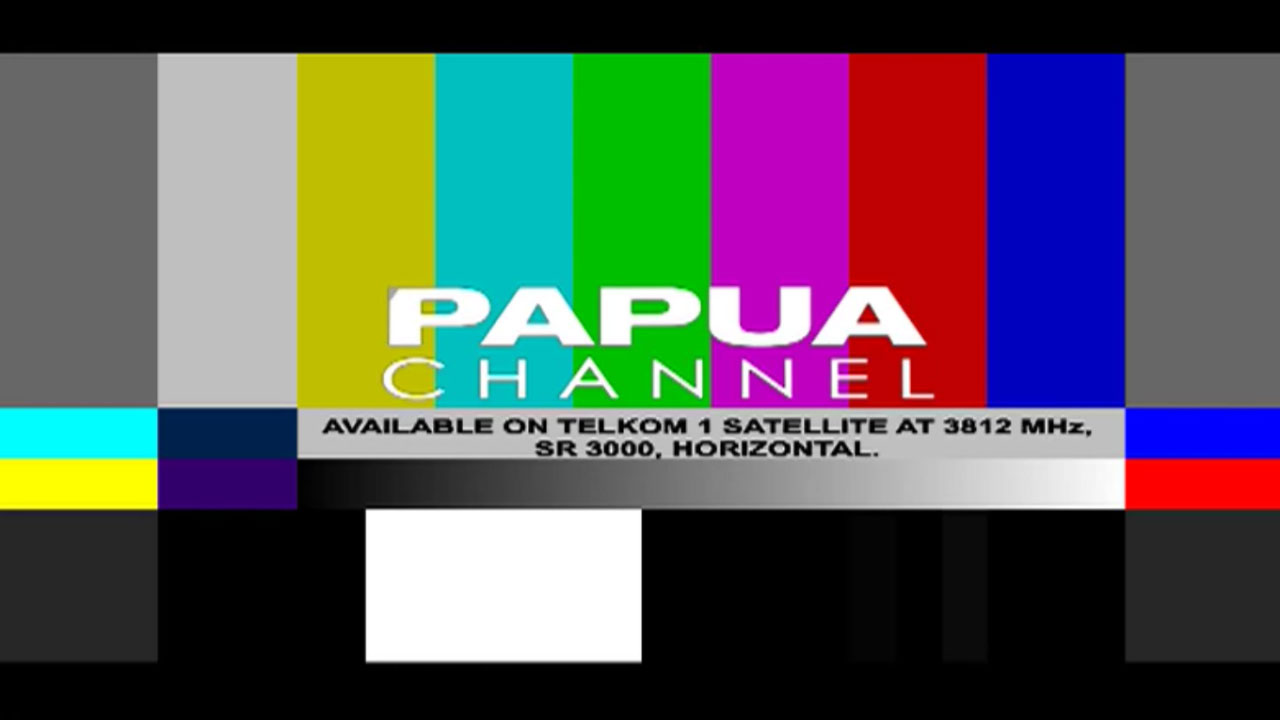Frekuensi siaran Papua Channel di satelit Telkom 1 Terbaru