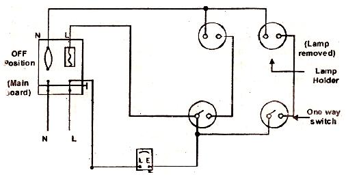 electrical wiring lamp