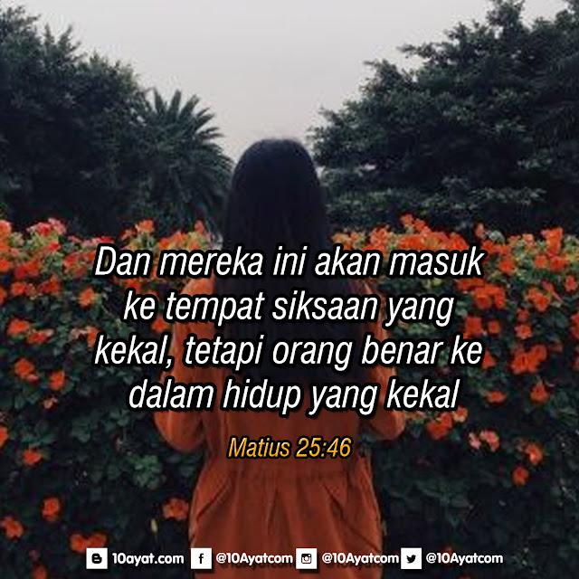 Matius 25:46