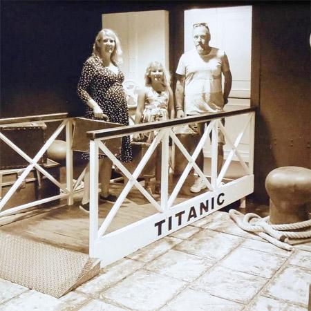Titanic utställning