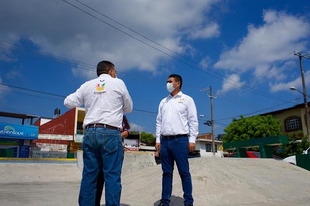 Espacios públicos, clave para fortalecer el tejido social: Miguel Paredes