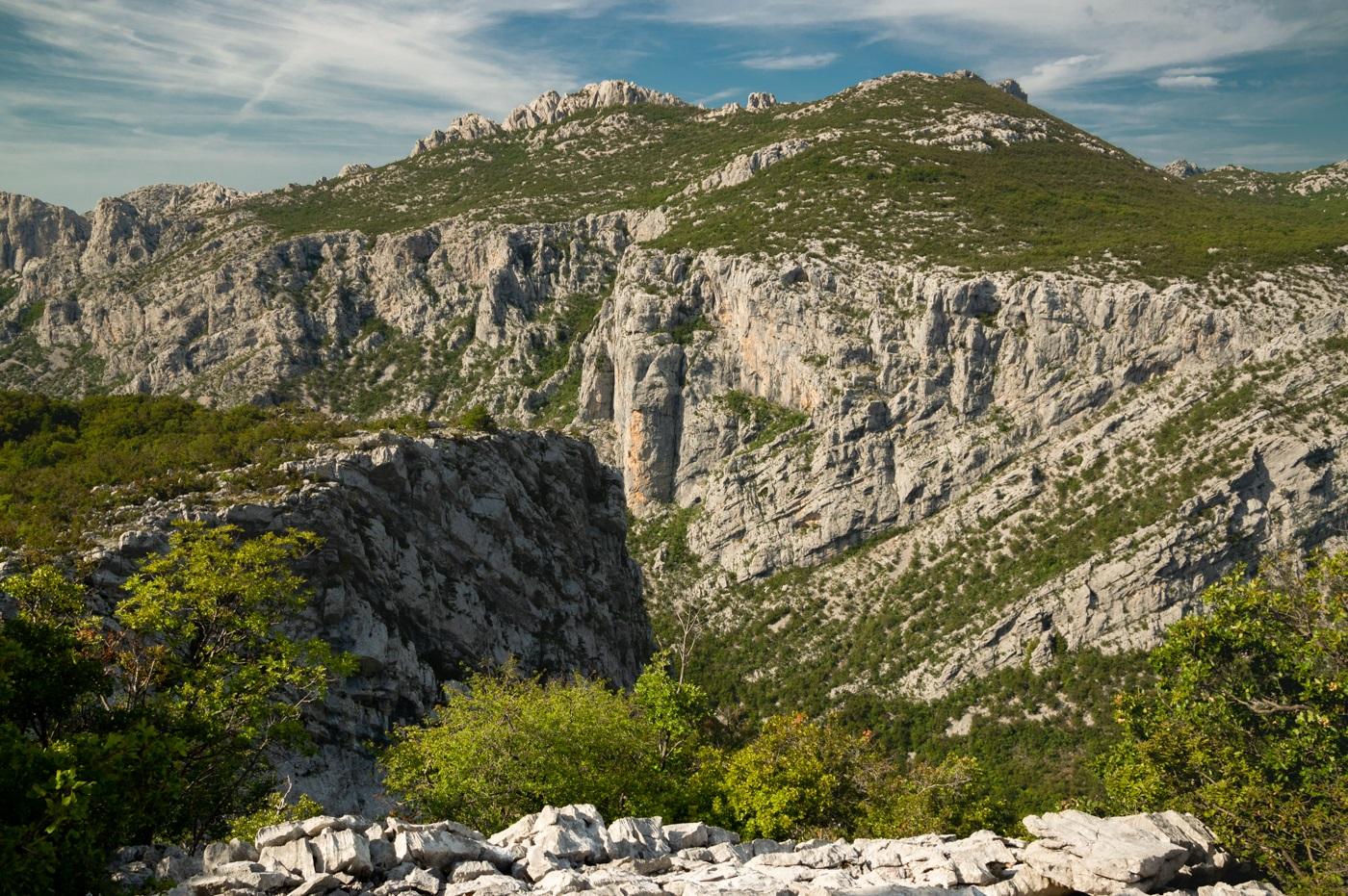Velebit Góry Dynarskie Chorwacja Szlaki