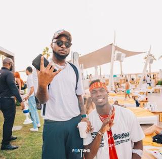 Davido And Pogba Meet In Dubai