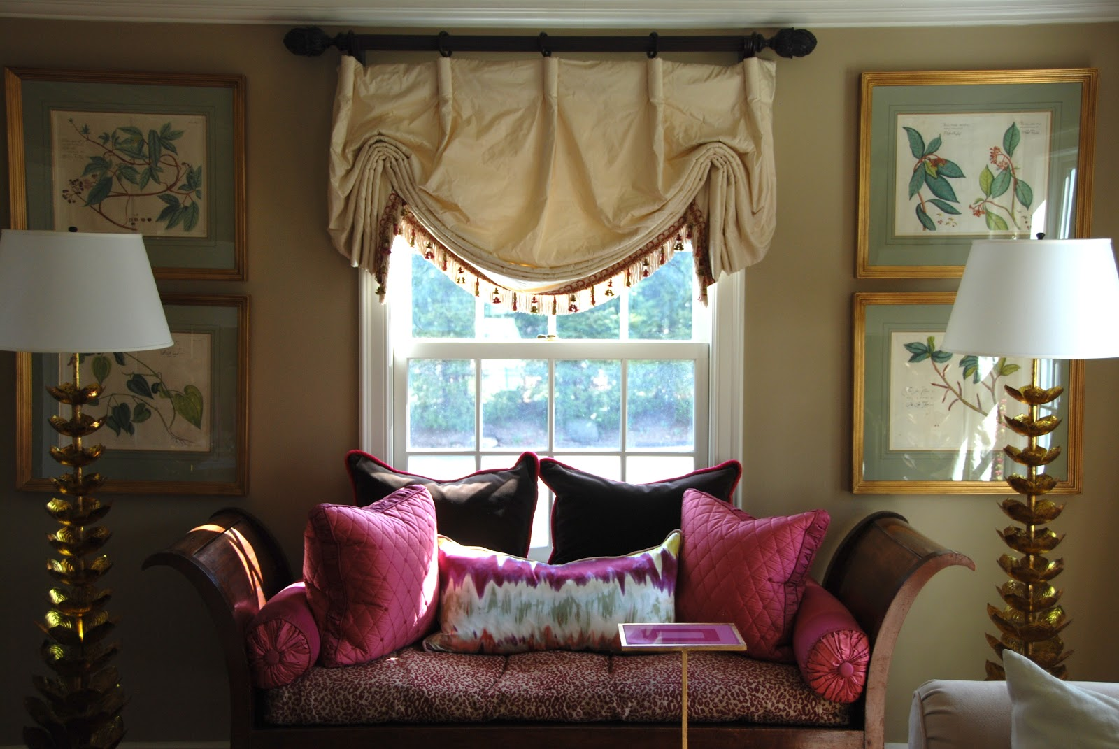 Bloggers beautiful abodes.....Elizabeth of Pretty Pink ...