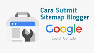 Cara Submit Sitemap Blogger