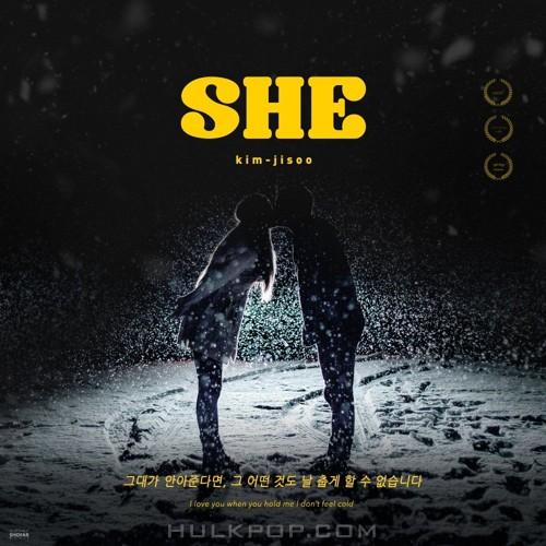 Kim Ji Soo – SHE(그대가 안아준다면, 그 어떤 것도 날 춥게 할 수 없습니다) – Single