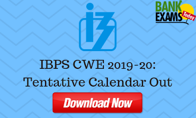 IBPS CWE 2019-20: Tentative Calendar Out