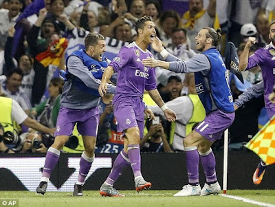 3 - Real Madrid wins the UEFA Champions League 2017