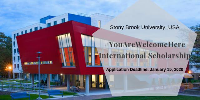 منحة مقدمة من جامعة ستوني بروك للطلاب الدوليين لاتمام دراستهم في الولايات المتحدة الامريكية