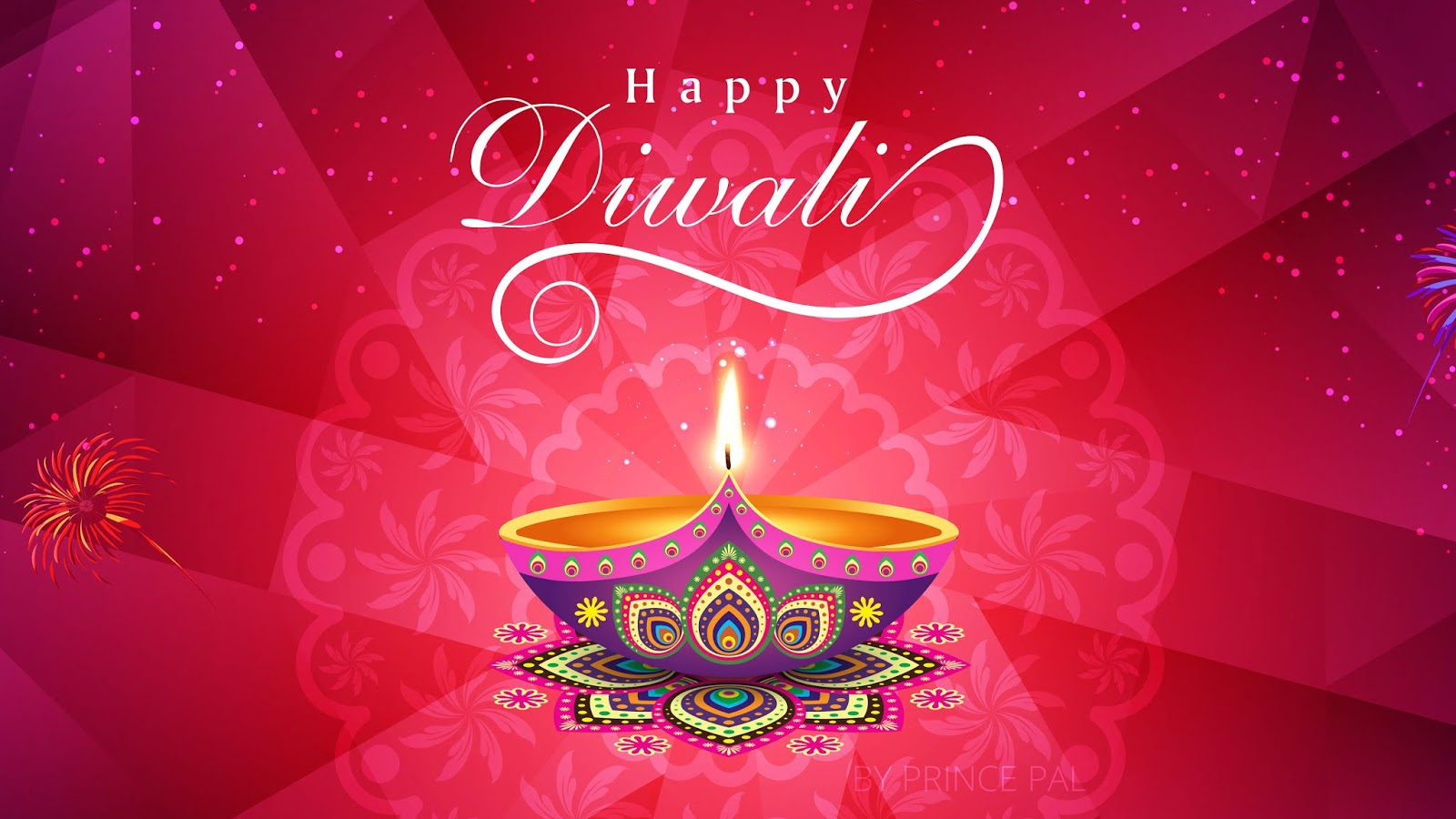 Happy Diwali HD Wallpaper 2018