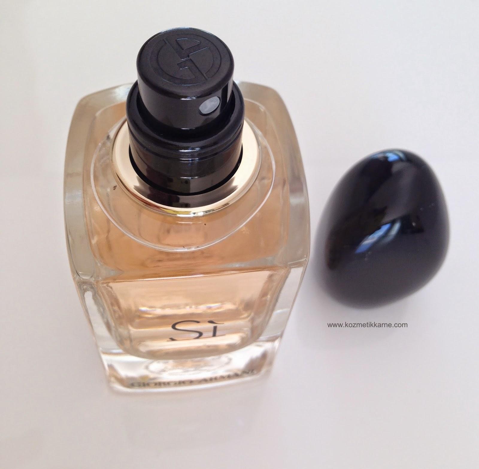 Kozmetikkarne Giorgio Armani Si Edp Kadin Parfüm