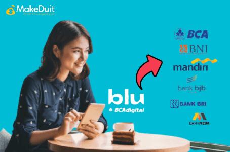 Cara Transfer dari Aplikasi Blu ke Bank Lain