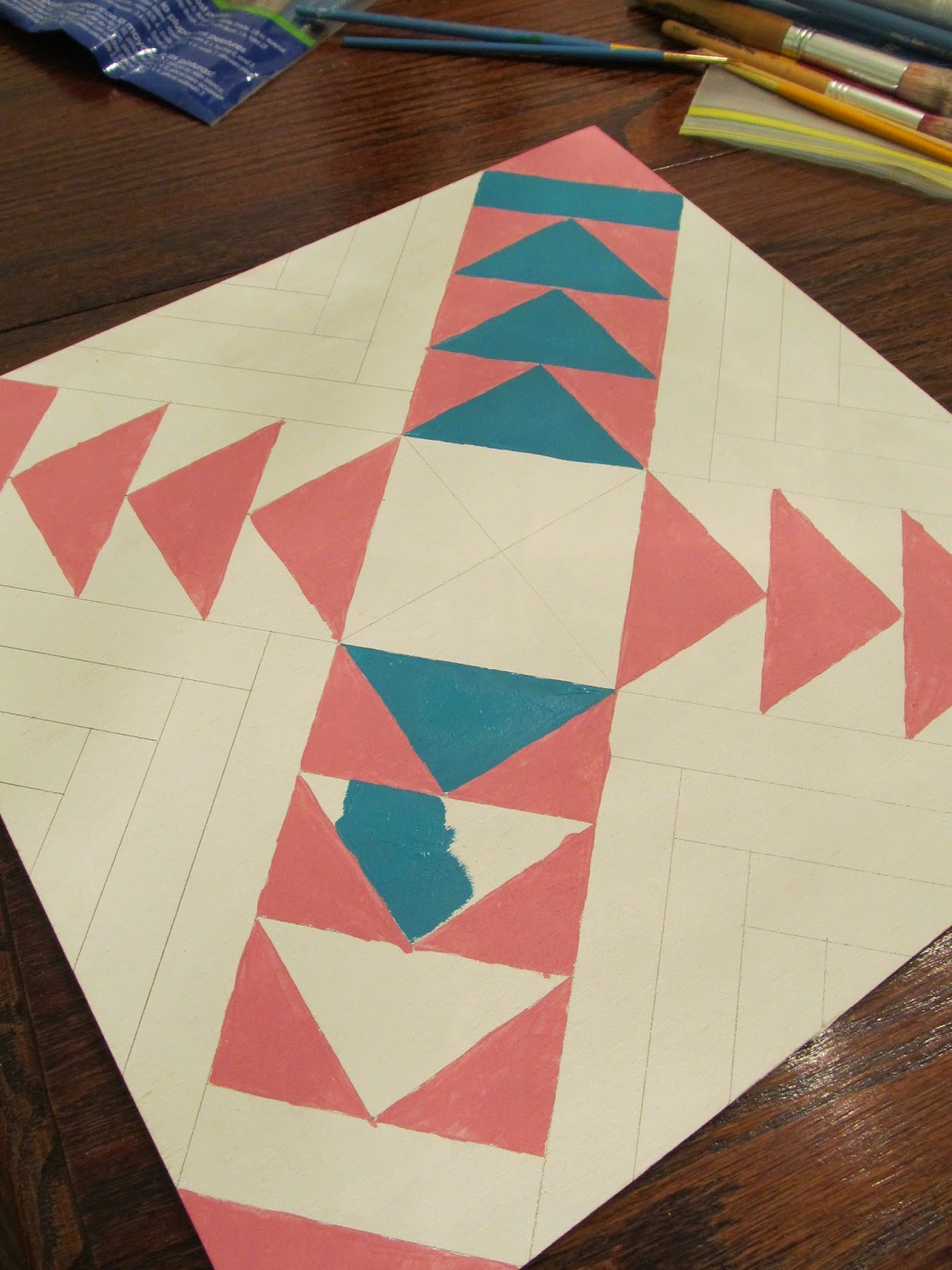 tutorial of how to make a barn quilt
