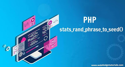 PHP stats_rand_phrase_to_seeds() Function