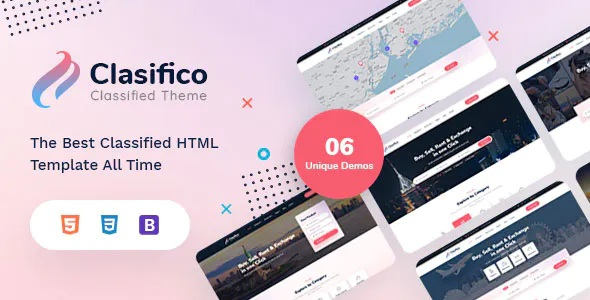 Best Classified Ads HTML Template