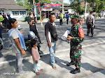 Satgas Covid 19 Kecamatan Mungkid Gelar Oprasi Wajib Masker