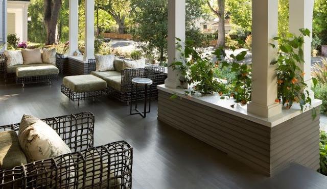 desain teras rumah model unik