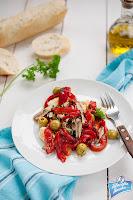 Sałatka z papryką i olwikami