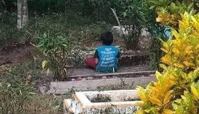 Lelaki Kecil di Tepi Kubur, Sebuah Kisah Nyata