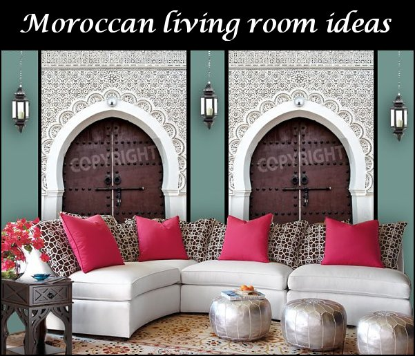 moroccan living room decorating ideas  Moroccan decorating ideas - Moroccan decor - Moroccan furniture - decorating Moroccan style