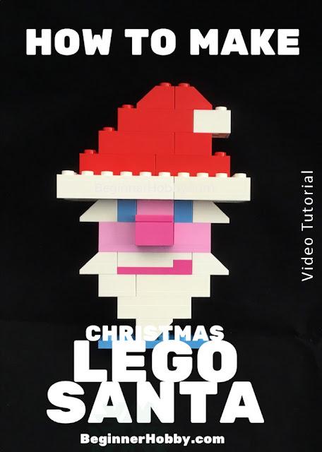 Christmas Lego Santa Ornament Poster