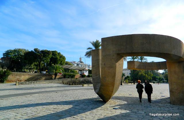 Sevilha: Paseo de Colón