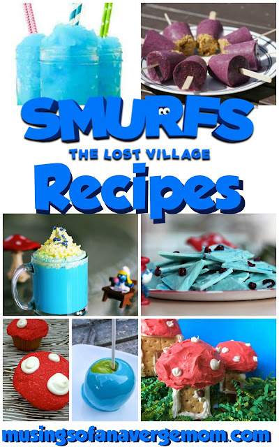 Smurfs Lost Village recipes