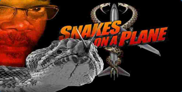Which Animals attack the aircraft in ''Snakes on a Plane''?