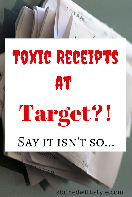 Toxic Chemicals on your receipts at Target, sign the petition