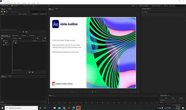 تحميل برنامج ادوبي Adobe Audition 2021 مجانا