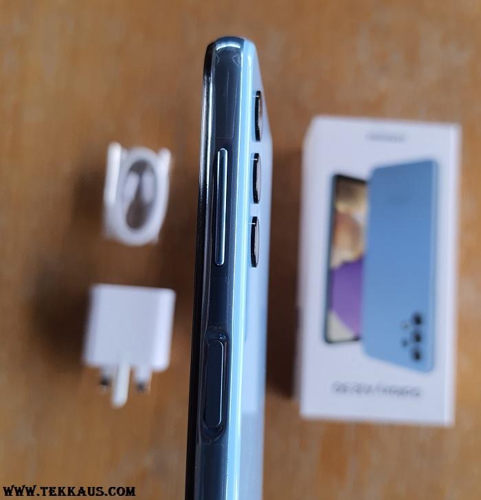 Samsung Galaxy A32 5G Side Fingerprint Sensor