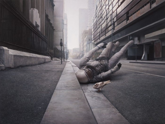 Истории падения, столкновения и дрейфа. Jeremy Geddes