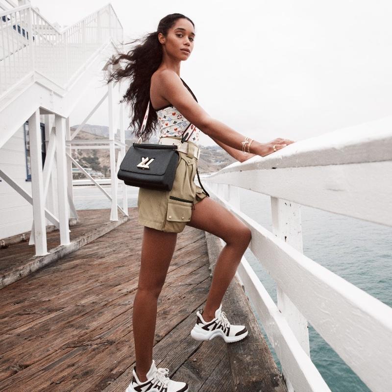 Louis Vuitton's Twist handbag spring 2021 adverting campaign