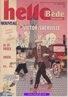 Hello-Bébé, numéro 34, 1991, Victor Sackville