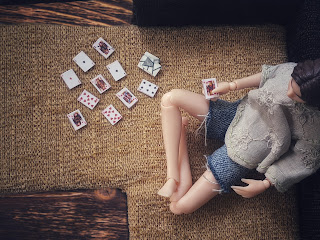 изготовления колоды карт для кукол