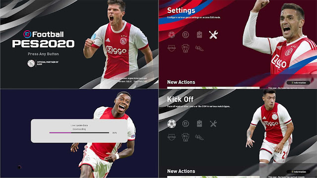 PES 2020 AFC Ajax Menu by drunkparis