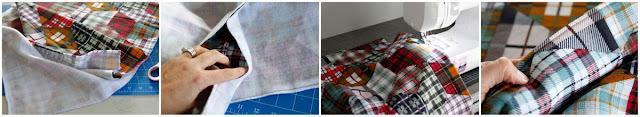 Step-by-step making a dog stroller blanket