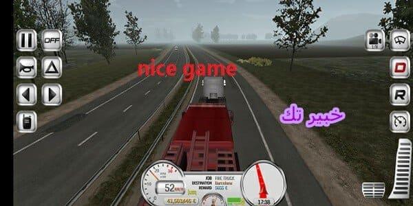 تحميل لعبة euro truck evolution مهكرة جاهزة
