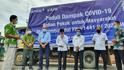 PT RAPP dan PT APR Bantu 10.905 Sembako Dibagikan ke 176 Desa 5 Kabupaten - Riau