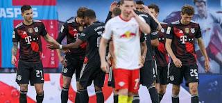 ملخص وهدف فوز بايرن ميونخ علي لايبزيغ (1-0) الدوري الالماني