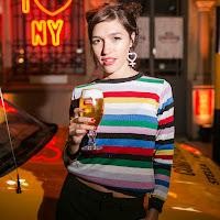 Candela Vetrano en la gran Mesa Compartida de Stella Artois