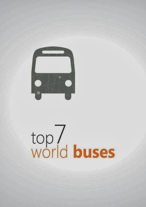7 bus paling TOP di dunia