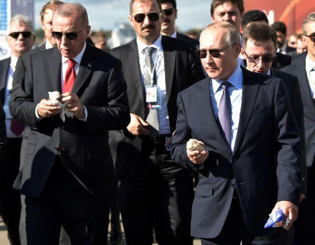 Η Μόσχα έτοιμη να πουλήσει μαχητικά αεροσκάφη στην Τουρκία