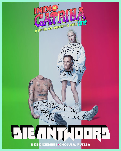 DIE ANTWOORD SE UNE A FESTIVAL CATRINA