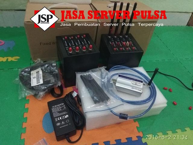 fungsi server pulsa