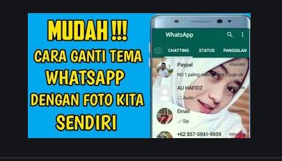 Cara Mengganti Background Layar Utama Whatsapp Biasa Bahas
