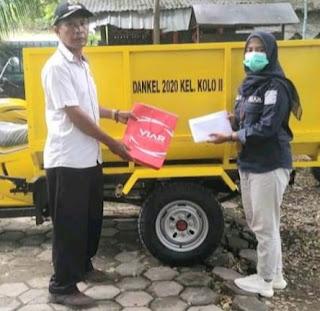 Kelurahan Kolo Pengadaan 2 Unit Kendaraan Pengangkut Sampah