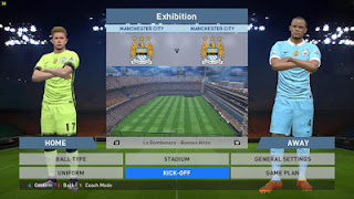 Download Kits Manchester City PES 2016 Musim 2016/2017