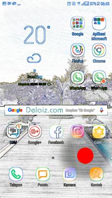 Menampilkan menu aplikasi android
